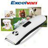 Excelvan LB-8780 Professional Grooming Kit Pet Cat Dog Hair Trimmer Rechargeable Electric Pet Clipper Shavor Razor With Comb Brush Haircut Set - BLACK WHITE
