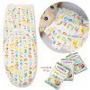 diapers Swaddleme organic cotton infant parisarc newborn thin baby wrap envelope swaddling swaddle me Sleep bag Sleepsack colorful letter - COLORFUL LETTER