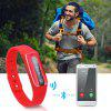 Diggro HB02 Bluetooth 4.0 Smart Bracelet NFC IP67 Waterproof Heart Rate Monitor Pedometer Call/SMS Reminder Sleep Monitor for Android iOS Smartphone - RED