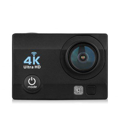 Q6 Cámara de Acción WiFi 4K Ultra HD Enchufe de Europeo