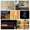 Excelvan®  720 LED Copper Wire Branch String Lights, 30 LED x 24 String Starry Lights Copper Wire, White Color, Flexible Silver Wire Light LED Starry Timbo Lights Fairy Lights Tiny Decorative Lights,