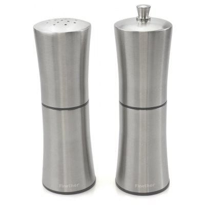 Finether OTSYMP - 003 Salt Shaker Pepper Mill Set