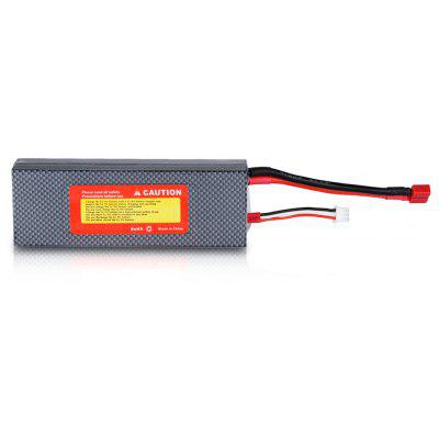 FLOUREON 7.4V 5200mAh 2S 30C Lipo RC Battery Pack With Hard Case for RC Helicopter RC Airplane RC Hobby (T Plug) 1pcs lion power 2s 7 4v 5200mah 30c lipo battery pack for rc car buggy monster truck backup li po battery