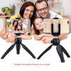 K3 Cell Phone Tripod Adjustable Ball Head Tripod Stand Table