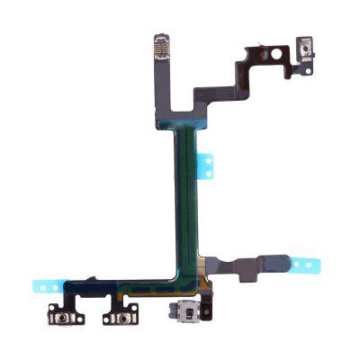 Original for iPhone 5 5G Power Mute Volume Button Switch Connector On Off Flex Cable Ribbon