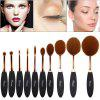 Ovonni MT034 Makeup Brush Tool - GOLDEN