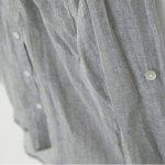 Buy 2016 new fresh style button fly long sleeve woman casual linen blouse GRAY