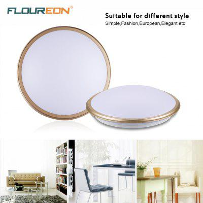 Floureon W Round LED Ceiling Light V K Bright Light - Energy efficient kitchen ceiling lighting