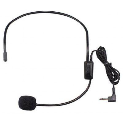 TDM - 100 3.5MM Wired Unidirectional Headset Studio Condenser Microphone