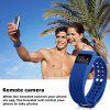 Diggro ID105 Smart Bracelet Call / SMS Reminder Pedometer - BLUE