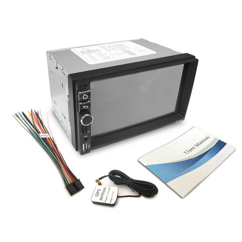 RK-A701 7 inch Universal  Android 5.1.1 Car Media Player