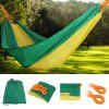HWDC - 21 Double Outdoor Hammock Swing Bed - YELLOW GREEN