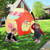 Excelvan kids Toddlers Pop-up Play Tent Children Game Playhouse Cubby Tent with Door and Windows and Marine balls Indoor Outdoor Portable & Foldable Children Game Toy