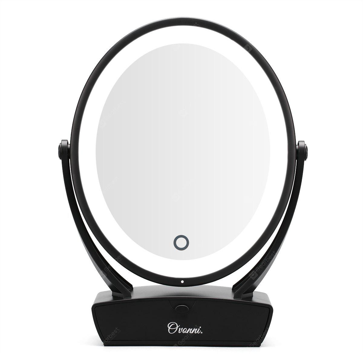 Ovonni Double Side 1x 5x Magnification Led Makeup Mirror
