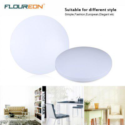 Buy Floureon®18W Round LED Ceiling Light,85-260V,6000-6500k Bright Light,2160 Lumens,white/natural white/warm white,14inch Round Flush Mount Fixture for Indoor Lighting,Energy Saving, Suitable for Bedroom WHITE for $55.37 in GearBest store