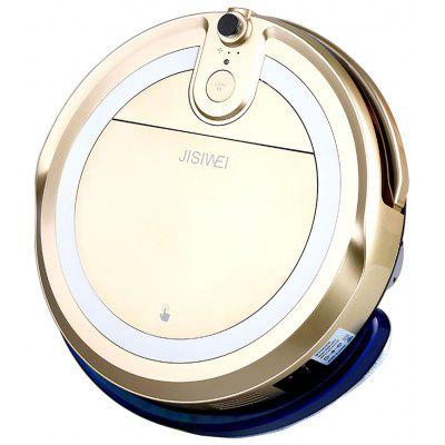 JISIWEI Vacuum Cleaning Robot i3 with Built-in HD Camera APP Remote Control for Android and iOS Smartphone - EU PLUG GOLDEN 50%reduction