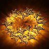 Excelvan 3.2M / 11FT 30LEDs Metal Star Fairy String Light - WARM WHITE