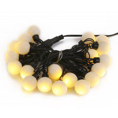 Excelvan 5M 20LED Warm White Big Ball String Light