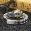 Buy GUANQIN Couples Watch Automatic Mechanical Luminous Sports Self-Wind Ladies' WHITE
