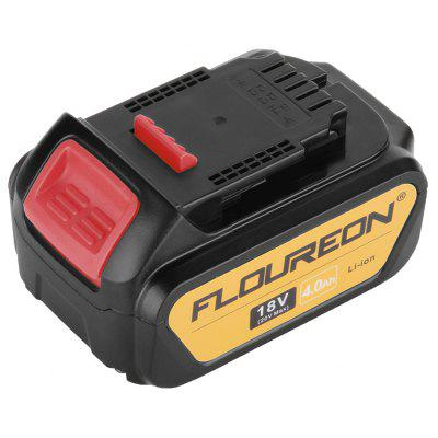 2 X FLOUREON 18V 4000mAh Li-ion Battery for DEWALT DCB200, DCB181, DCB182 DCD780 DCD785 DCD795 DCF885 DCF895 Cordless Drill Driver, DCS380, DCS391 Saw