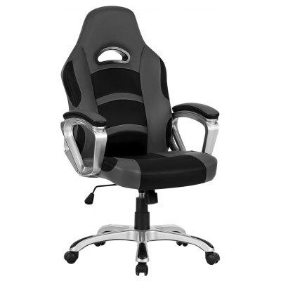 LANGRIA Ergonomic High-Back Office Chair Faux Leather