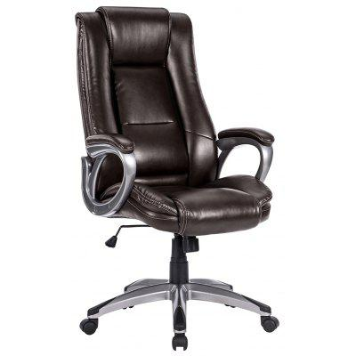 LANGRIA Modern Ergonomic High-Back Leather Office Chair