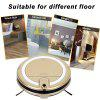 JISIWEI Vacuum Cleaning Robot i3 with Built-in HD Camera APP Remote Control for Android and iOS Smartphone - GOLDEN
