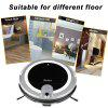 JISIWEI Vacuum Cleaning Robot i3 with Built-in HD Camera APP Remote Control for Android and iOS Smartphone - GRAY