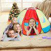 Excelvan kids Toddlers Cool Colorful Pop-up Play Tent Large Space Hexagonal Portable Folding Playhouse, Indoor Outdoor Children Game Play Tent with Fastening Nails