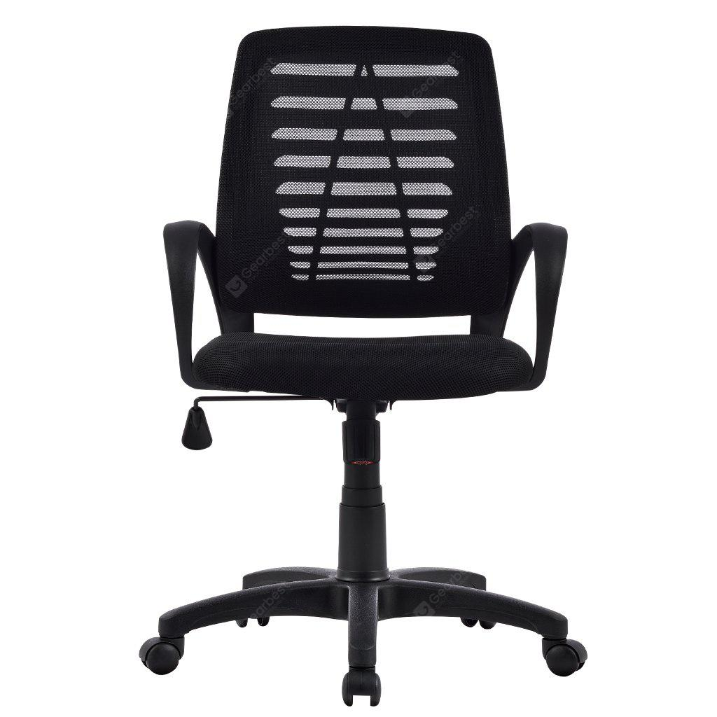 us mct053 black ergonomic mid back mesh swivel computer task office