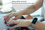 Cubot V2 Heart Rate Bracelet Bluetooth 4.0 Pedometer Calorie Sleep Monitor Call/SMS Reminder Sedentary Reminder Remote Photograph for Android IOS - GREY