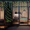 (STRING LIGHT BATTERY CONE GREEN)Finether 7.22 ft 2.2 m Battery Powered Cone String Lights with 20 Warm White LEDs for Indoor Christmas Party Wedding Holiday Festival Celebration Home Decoration