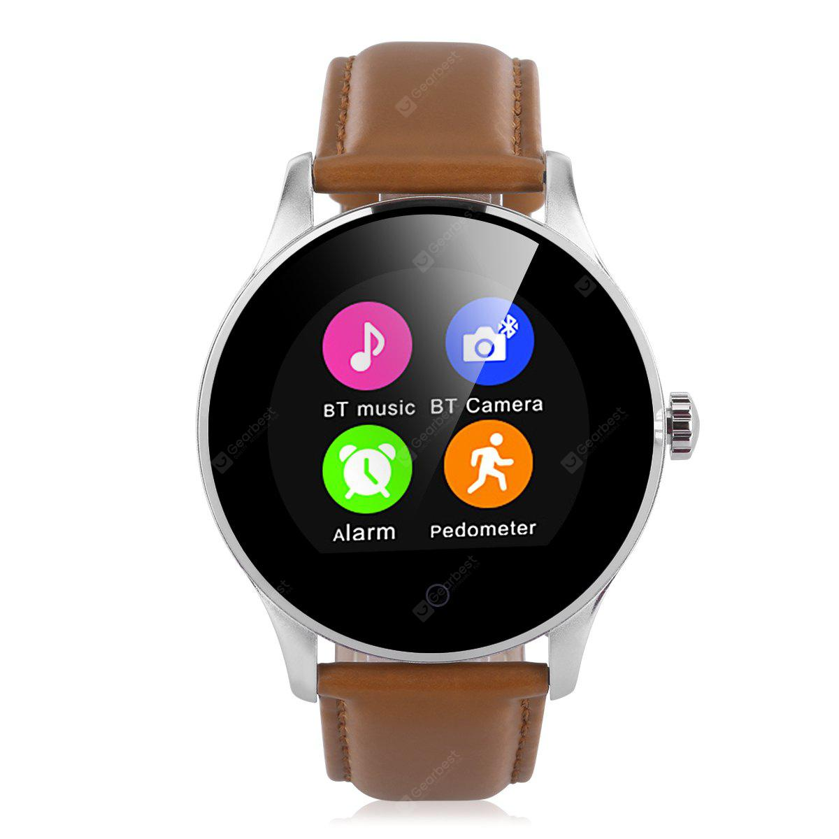 Excelvan K88H Smart Watch Pedometer Heart Rate Monitor Call SMS Reminder Sleep Monitor