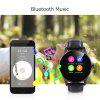 Excelvan K88H Smart Watch Pedometer Heart Rate Monitor Call/SMS Reminder Sleep Monitor - BLACK