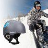 Moon Skiing Helmet Adult Kid Equipment Autumn Winter Snow Skating Sports Integrally-molded Outdoor Ultralight Matte Saftly Snowboard Helmets - 4#