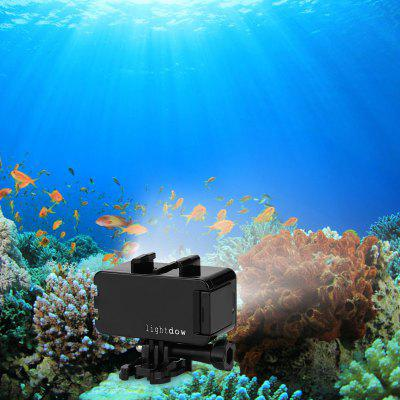 Lightdow 30M Waterproof Underwater Diving LED Video Light for GoPro hero 1/2/3/3+/4 SJCAM Sj4000 Sj6000 Action Camera Black