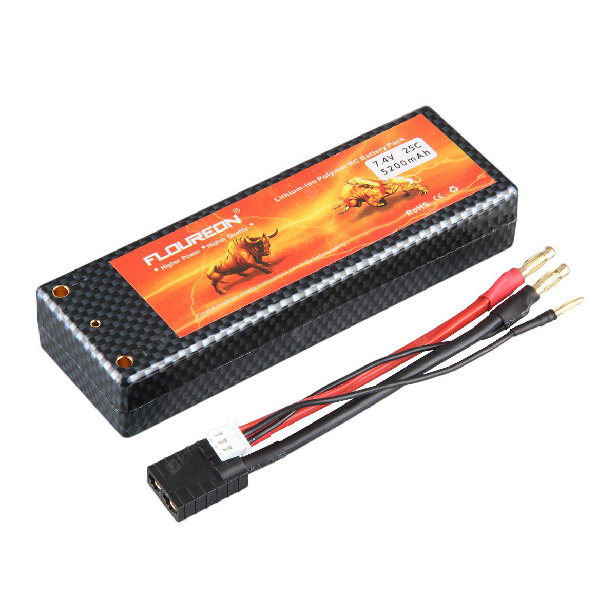 Floureon 2s 74v 5200mah 25c With Traxxas Plug Lipo Battery Pack For Bundle 10pcs Steam Wallet Idr 400000 Rc Evader Bx Car Truck Truggy Airplane Uav Drone Fpv 2878 Free