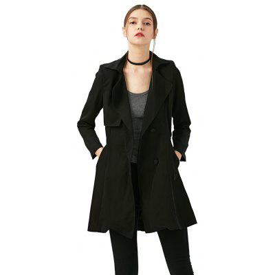 Fashion Trench Coat 2016 Fall New Arrival  Plus Size Trench Coat for Women  Slim Windbreaker Female Desigual Long Coat Femme Ladies Trenchcoat
