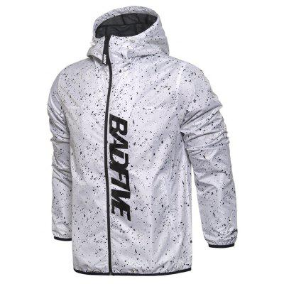 Li Ning New Arrival Man Bad Five Series Sport Printing Windbreaker