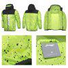Li Ning New Arrival Man Bad Five Series Sport Printing Windbreaker - GREEN BLACK