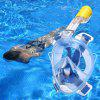 AR72 - 41 Full Face Mask Swimming Snorkel Breath - BLUE