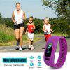Diggro moving up2 Smart Healthy Bracelet Bluetooth V4.0 Wristband with Pedometer / Sleep Monitoring / Tracking Calorie/Remote Capture Compatible for Android and IOS - PURPLE