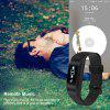 Lenovo HW01 Smart Bracelet   Heart Rate/  Sleep Monitor Pedometer Calorie Tracker Call/SMS Sedentary Reminder  for Android IOS - BLACK