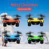 Virhuck volar-360 RC Nano Drone 2.4 GHz 4.5 CH 6 AXIS GYRO System Multicolor LED Lights Headless/One Key Return Mode Quadcopter Yellow