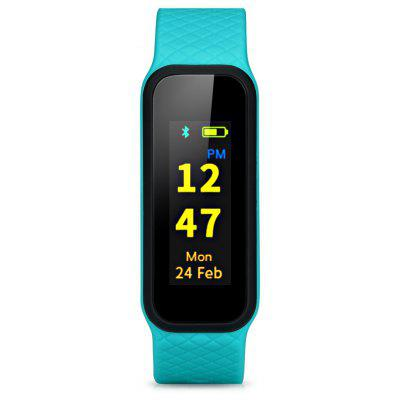 INCHOR WRISTFIT HR2 Heart Rate Bracelet Bluetooth 4.0 Pedometer Calorie Sleep  Monitor Call/SMS Reminder Sedentary Reminder for Android IOS
