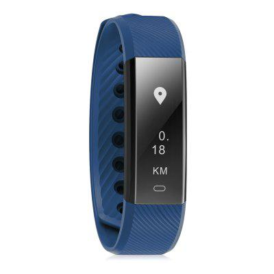 Diggro ID115 Smart Bracelet Bluetooth 4.0 Pedometer Calorie Sleep Monitor Call/SMS Reminder Sedentary Reminder Without Heart Rate for Android IOS