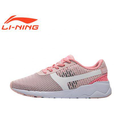 Li-Ning Women's Heather Classic Running Shoes  Lightweight Running Shoes Women's Sneakers AGCM054