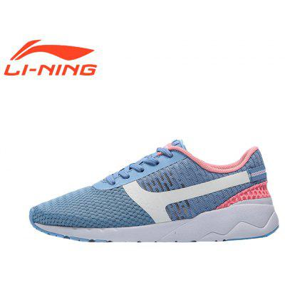 Li-Ning Women\'s Heather Classic Running Shoes  Lightweight Running Shoes Women\'s Sneakers AGCM054