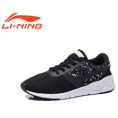 Li-Ning Women\\\'s Heather Classic Running Shoes  Lightweight Running Shoes Women\\\'s Sneakers AGCM054