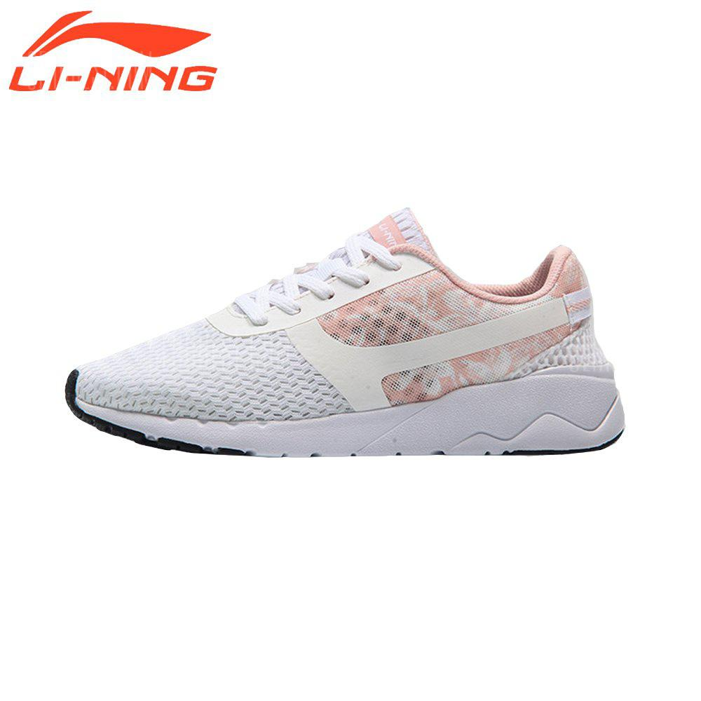 Li-Ning Women's Heather Classic Running Shoes Lightweight Running Shoes Women's Sneakers AGCM054 discount fake 0Vlll